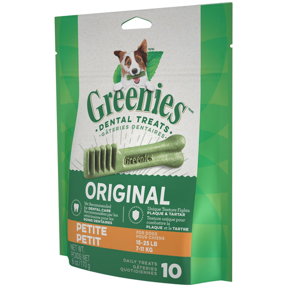 Greenies Mini Treat-Pak - Petite 6 oz