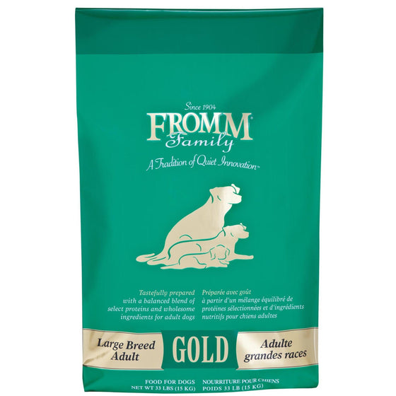 Fromm Gold Chien Adulte Grandes Races 33lbs (15kg)