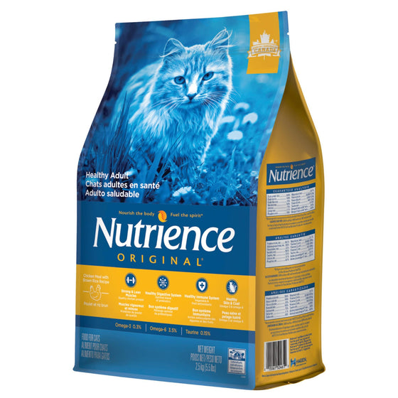 Nutrience Original Chats Adultes en Santé, poulet 5.5lb