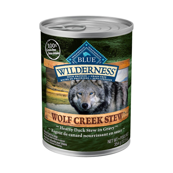 Blue Wilderness Chien Conserve Râgout de Canard 12.5oz