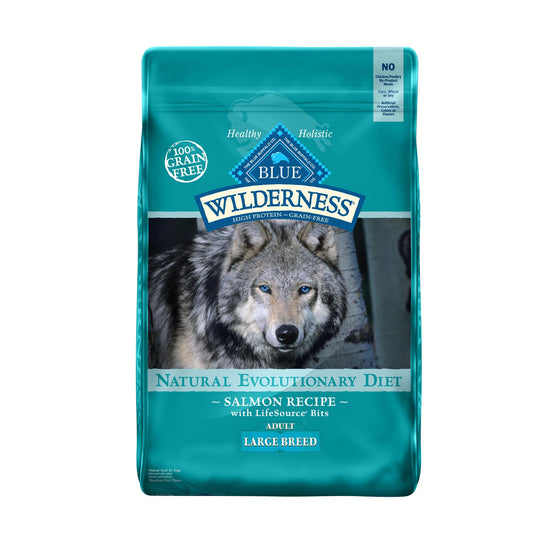 Blue Wilderness Chien Grandes Races Saumon