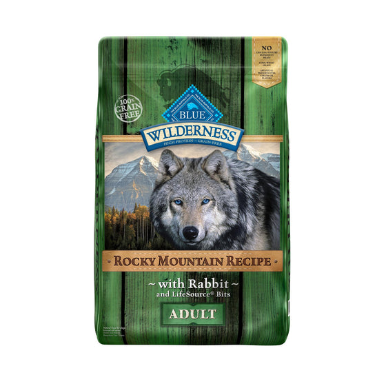 Blue Wildersness Rocky Mountain Chien Lapin