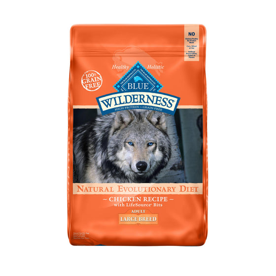 Blue Wilderness Chien Grandes Races Poulet