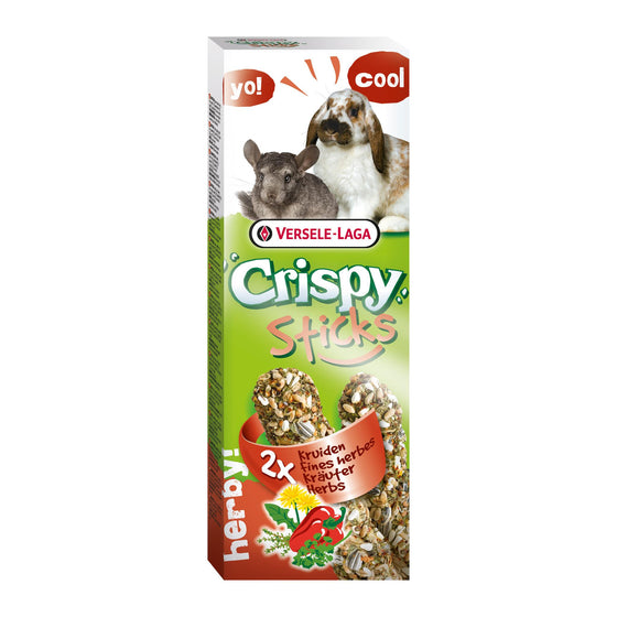 Versele-Laga Crispy Sticks Lapin-Chinchillas 2x 55g