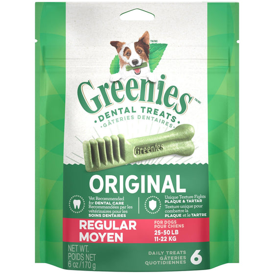 Greenies Mini Treat-Pak - Régulier 6 oz