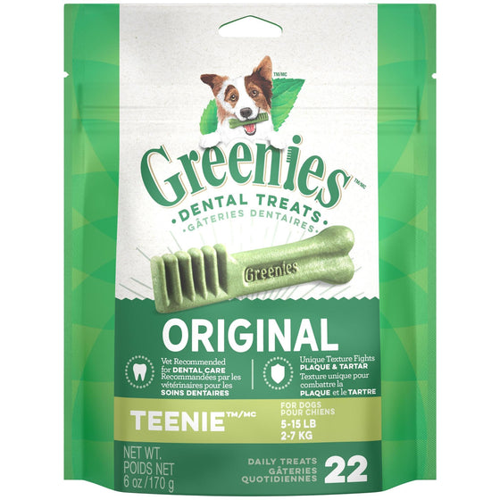 Greenies Mini Treat-Pak - Teenie 6 oz