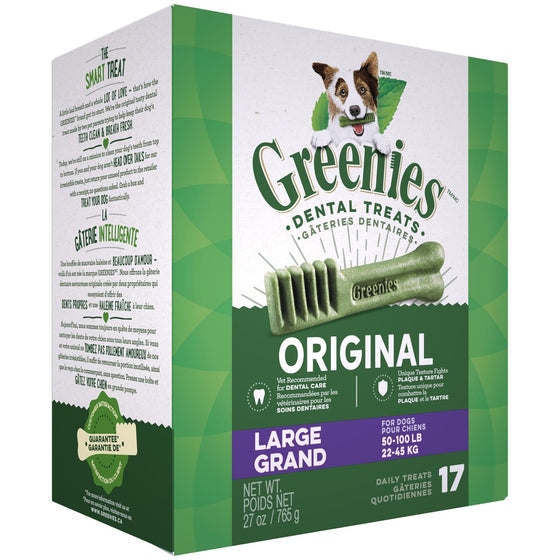 Greenies Treat Tub Pak - Large 27 oz