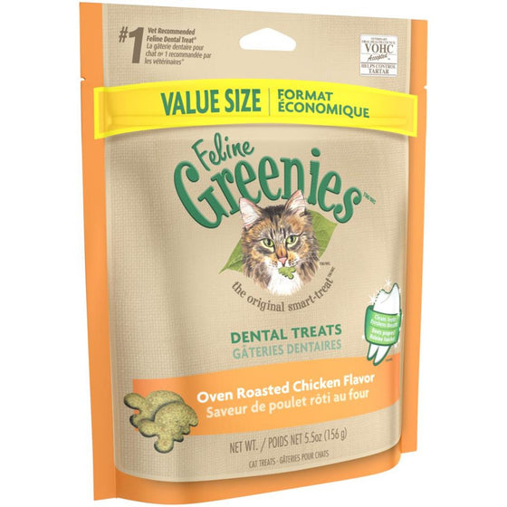 Greenies Gâterie Dentaire au Poulet Rôtie 5.5 oz