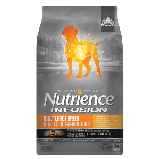Nutrience Infusion Santé Adultes Grande Races, Poulet 10kg