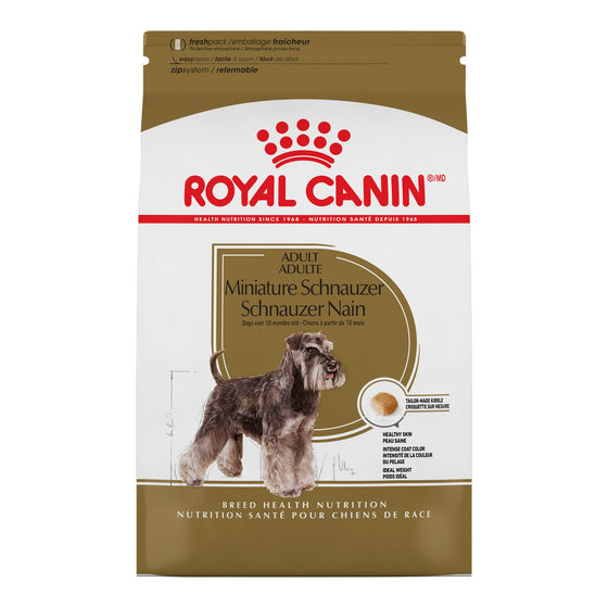Royal Canin Chien Schnauzer Nain Adulte 2.5 lbs