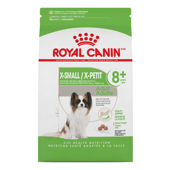 Royal Canin Chien X-Small Mature 8+ 2.5 lbs