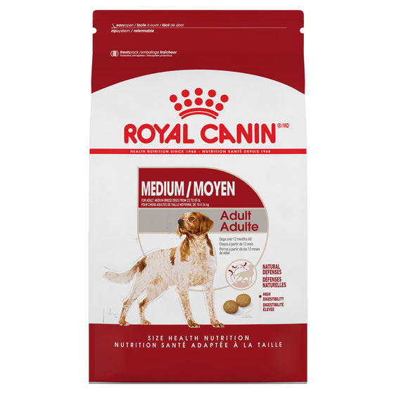 Royal Canin Chien Medium Adulte 17 lbs