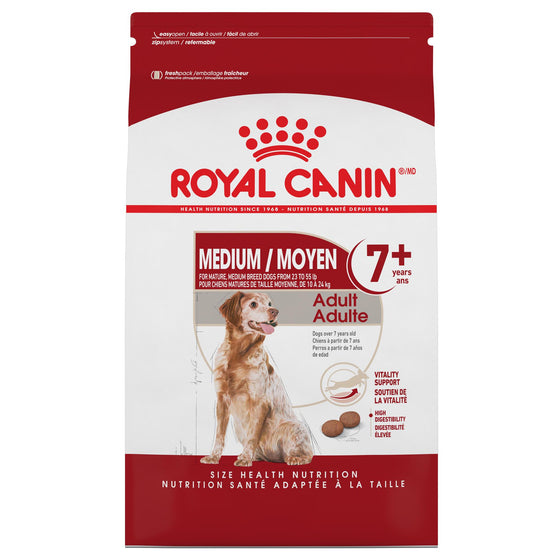 Royal Canin Chien Medium Adulte 7+ 30 lbs