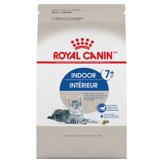 Royal Canin Chat Indoor Adulte 7+ 13lbs