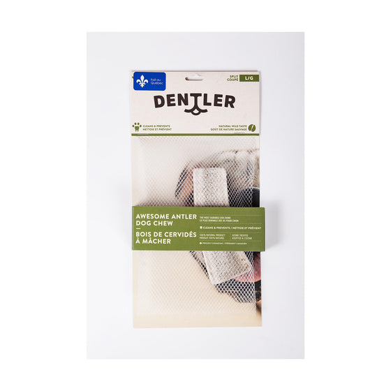 Dentler Bois Cervidés Split Naturel Grand