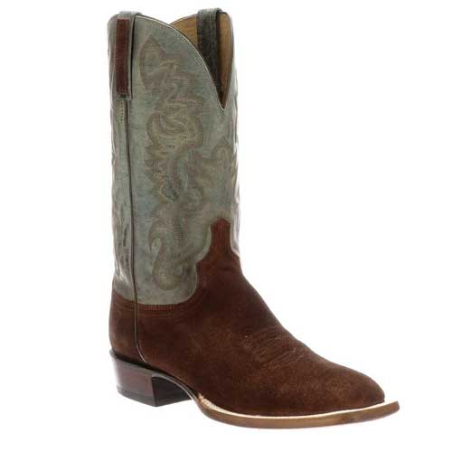 Leather Cowboy Mexican Western Boots