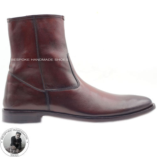 ankle high dress boots