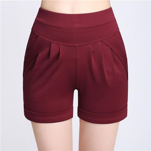 2017 Summer Stretch Shorts Women Casual High Waist Shorts for Female Fateavengifts-eavengifts