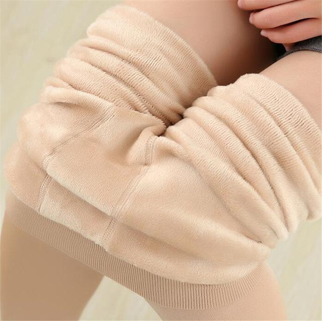 Women's Winter Plus Cashmere Leggings Fashion Big Size Warm Super Elasticeavengifts-eavengifts