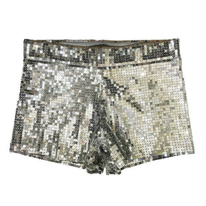 Women Tap Stretch Glittering Sequin Mini Shorts DS nightclub Dance Costume Sequineavengifts-eavengifts