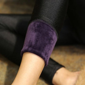 High Quality Winter Warm Women Leggings Plus Thick Velvet Solid Color Higheavengifts-eavengifts