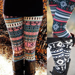 Women Autumn Winter Leggings Clothes Warm Slim Pants Exotic Casual Pants Christmaseavengifts-eavengifts