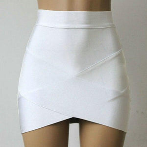 Sexy Bandage Rayon Good Elastic Women Mini Skirt Wiggle Slim Pencil Clubweareavengifts-eavengifts