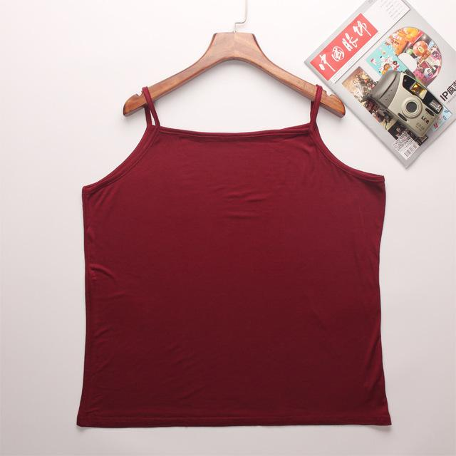 2017 New Arrival Women Fashion casual Solid Candy Color Modal Cotton Sleevelesseavengifts-eavengifts