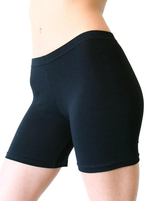 XS-XXXL 2018 sexy Ladies Knee-Length Short Leggings Under Skirts, Comfortable Lightweight Bambooeavengifts-eavengifts