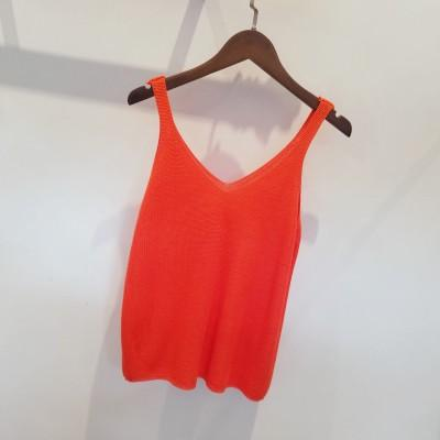 Women Casual Cropped Top Ladies Sexy V neck Knitted Tank Hollow Outeavengifts-eavengifts