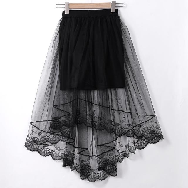 Fashion Women's High Waist A-line Skirt Swing Pleated Midi Summer Skirt Laceeavengifts-eavengifts