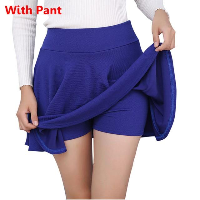 Women's S-5XL All Fit Tutu School Short Skirt Pants 2018 Summer 6eavengifts-eavengifts