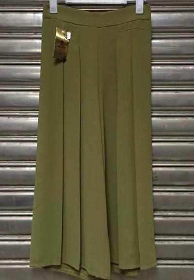 2018Women's summer cotton linen wide leg pants big yards loose pant fashioneavengifts-eavengifts