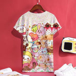 BTS BT21 Kpop 3D Print Anime Short Sleeve T-Shirt Women Cartoon Teavengifts-eavengifts