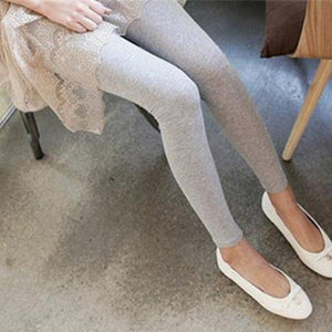 New Fashion Stretchy Leggings Women Skinny Fit Modal Cotton High Waist Ladyeavengifts-eavengifts