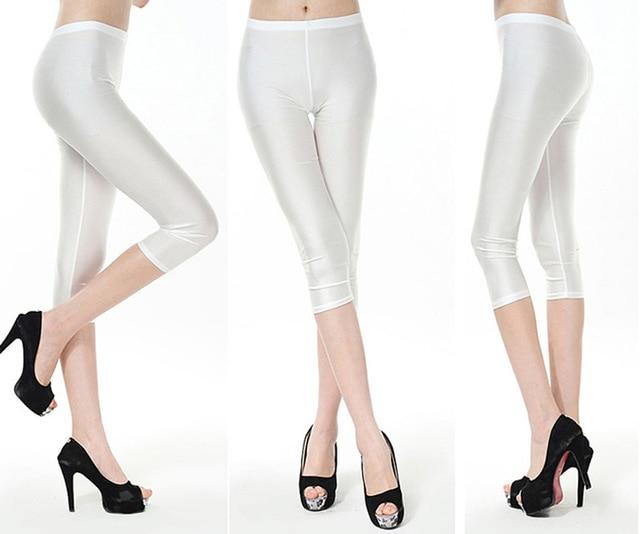 New Arrival Sexy Solid Candy Neon Women Summer Leggings High Stretchedeavengifts-eavengifts