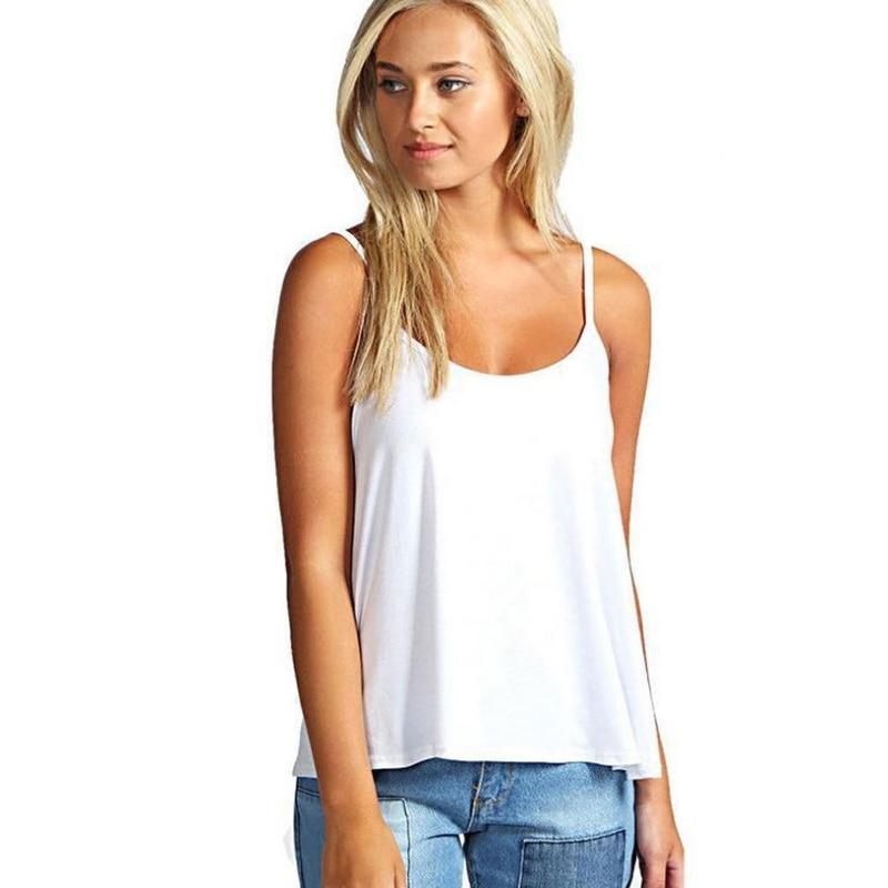 Plus Size S-3XL Summer Sexy Solid Female Vest Casual Backless Comfy Ladyeavengifts-eavengifts
