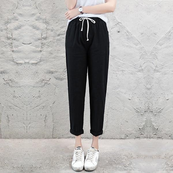 2018 Summer Autumn Women Casual Harajuku Long Ankle Length Trousers Plus Sizeeavengifts-eavengifts