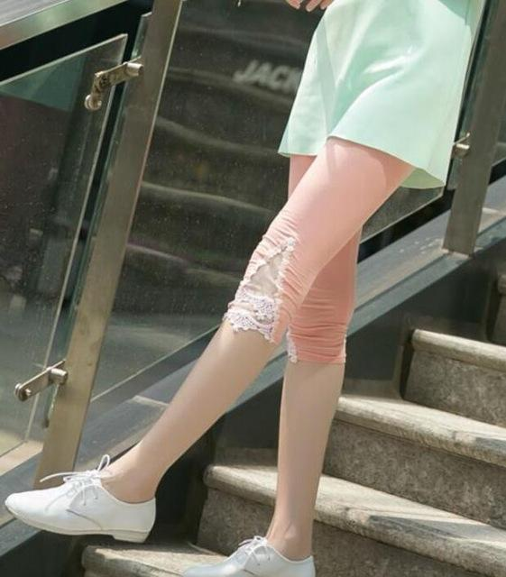 New Women Leggings Fashion Summer Legging Spring Girl Cotton Elastic Triangle Holloweavengifts-eavengifts