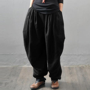 New Oversized ZANZEA Women Wide Leg Cargo Trousers Overalls Casual Elastic Waisteavengifts-eavengifts