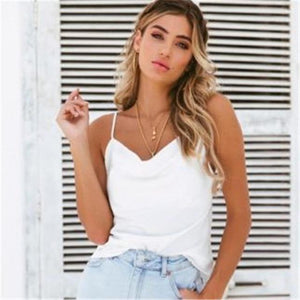 2018 New Summer Fashion Women's Striped Casual Tank Tops Shirt Loose Casualeavengifts-eavengifts