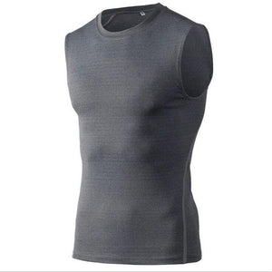 1 pc Fitness Compression Sleeveless Tight Shirts Men's Solid Tank Tops Bodyeavengifts-eavengifts