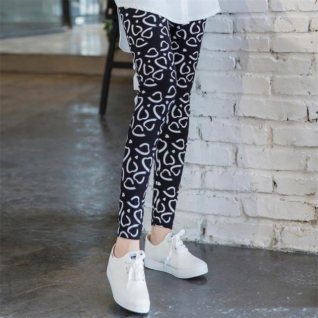 Women's Leggings Letter Pattern Skinny Mid Waisted Fashion Pantseavengifts-eavengifts