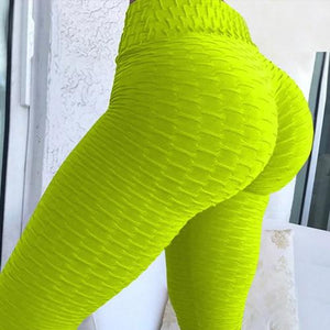 Women Pink High Waist Fitness Breathable Leggings Fashion 2018 Female Push Upeavengifts-eavengifts