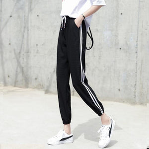 2018 Women High Waist Harem Pants Autumn Elastic Casual Pants Female Workouteavengifts-eavengifts