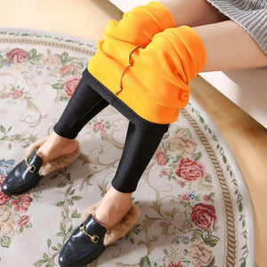 2018 korean style women winter trousers plus velvet high waist women pantseavengifts-eavengifts