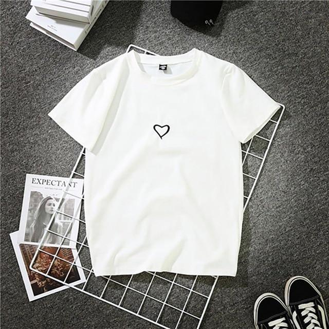 2018 Fashion Harajuku T Shirt Women Letter Printed Hip Hop T Shirteavengifts-eavengifts