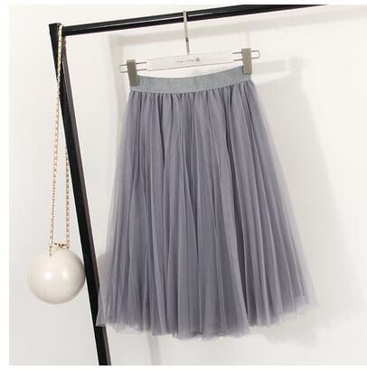 BJL New Fashion 3 Layers Tulle Skirts Women's Black Gray White Adulteavengifts-eavengifts