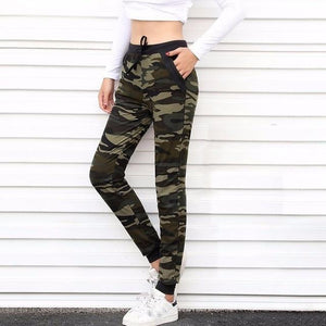 [] 2018 New Women sweatpant Camouflage Jogger Pant Harem Looseeavengifts-eavengifts