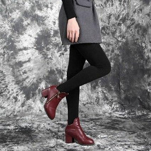 Casual Warm Faux Velvet Winter leggins Women Leggings Knitted Thick Slim Supereavengifts-eavengifts